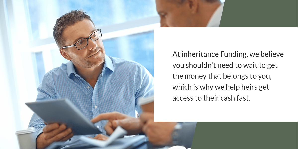 what to know about inheritance advance