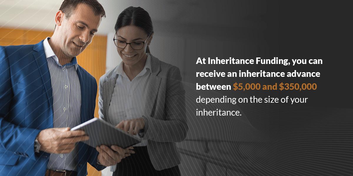 receive inheritance advance directly